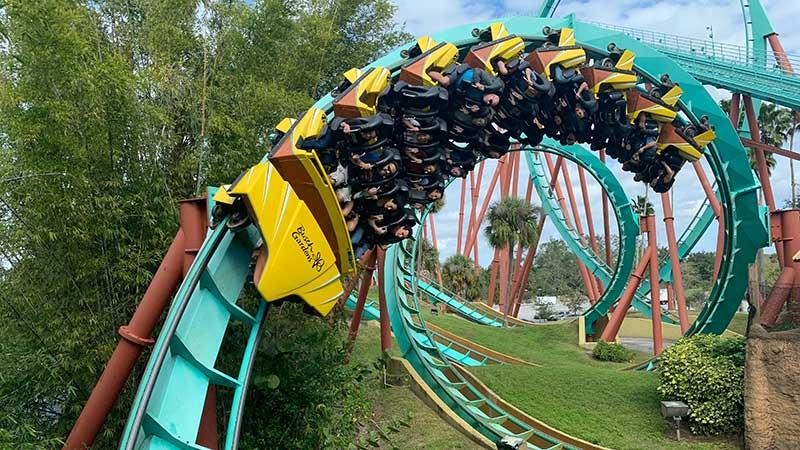 Bush Gardens Roller Coaster