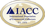 International Association of Commercial Collectors Logo